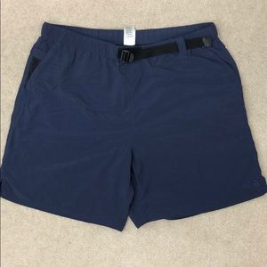 The North Face Blue Mesh Brief Men's Shorts Belt